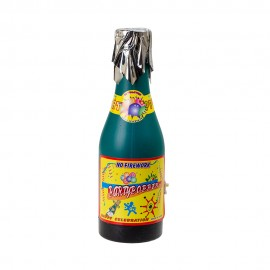 Хлопушка Карнавальная в виде бутылки 60 см