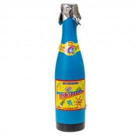 Хлопушка Карнавальная в виде бутылки 40 см (фольга)