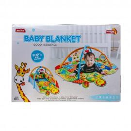 Детский развивающий коврик с дугами  120х110 см