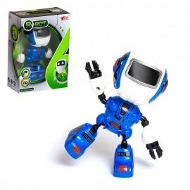 Робот интерактивный металлический