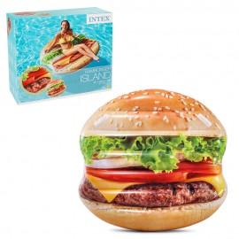 Плот для плавания «Гамбургер» 145х142 см