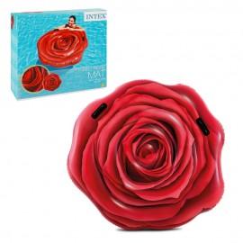 Матрас для плавания «Роза» 137х132 см