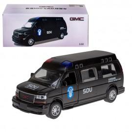 Машина  металлическая 1:32 Полиция (звук)