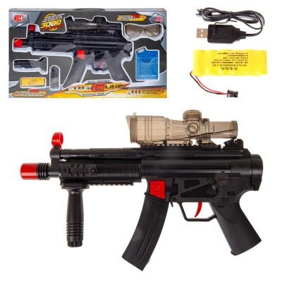 Пистолет аккумуляторный с гидрогелевыми пулями USB