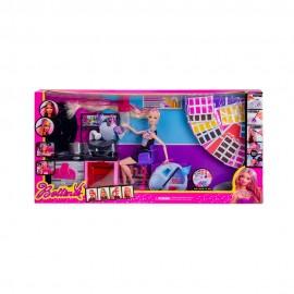 Набор Салон красоты с куклой и косметикой