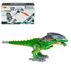 Динозавр на батарейках  (свет,звук,)