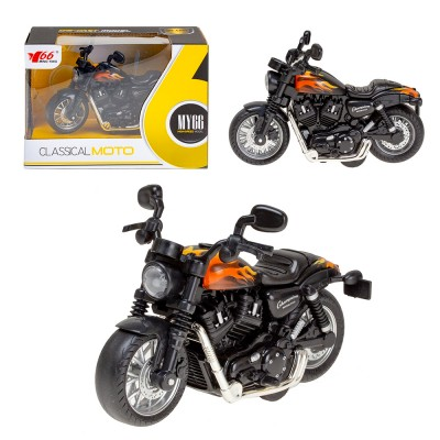 Металлический Мотоцикл  1:14 (свет,звук)