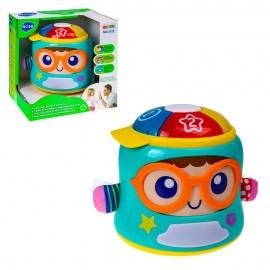 Развивающая игрушка Счастливый младенец 19х15х19,5 см