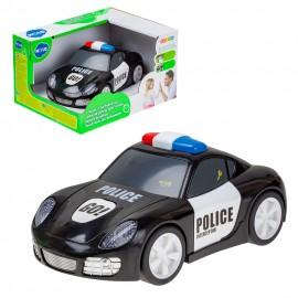 Машина на батарейках  Полиция (свет,звук)  22х16,5х13,5 см