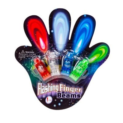 Светящиеся насадки на пальцы, 4 шт