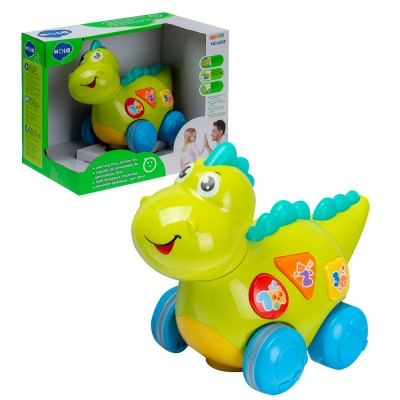 Развивающая игрушка Динозаврик на батарейках (свет,звук)  28х18х21 см