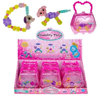 Браслет-игрушка Питомцы в сумочке