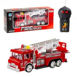 Машина на радиоуправлении Пожарная (свет,звук)