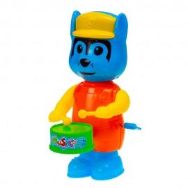 Заводная игрушуа  Волк  16х7х10 см