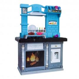 Детский игровой набор кухни Стойка (свет,звук,спрей) 67х44х100 см