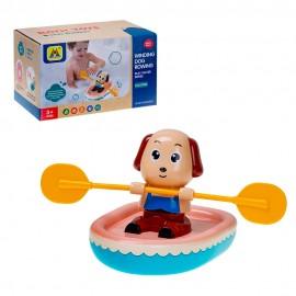 """Игрушка для ванны """"Собачка в лодке"""" 21х12,3х12,3 см"""