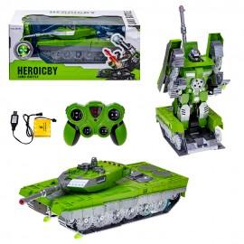 Игрушка радиоуправляемая Трансформер-танк