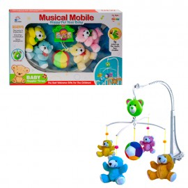 Музыкальный мобиль «Мишки»