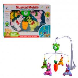 Музыкальный мобиль Зайчата