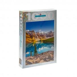 Пазл 1000 деталей Озеро в горах