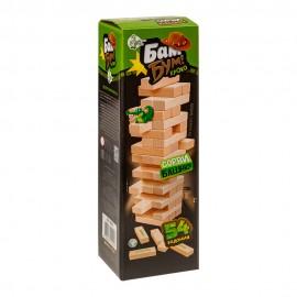 Игра для детей и взрослых «Бам-бум Кроко» (падающая башня)