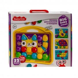 Мозаика для малышей «Котик» в чемодане 32 элемента