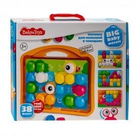 Мозаика для малышей «Утята» в чемодане 38 элементов