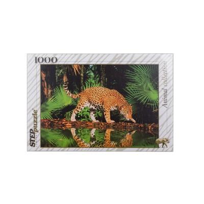 Пазл Леопард у воды 1000 деталей